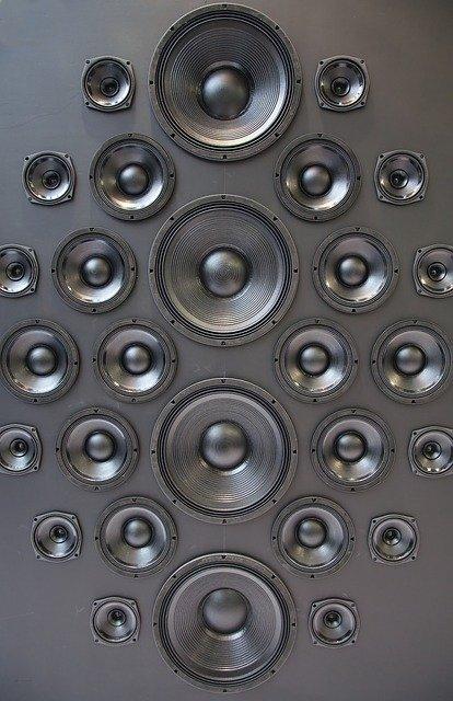 Bright speakers design