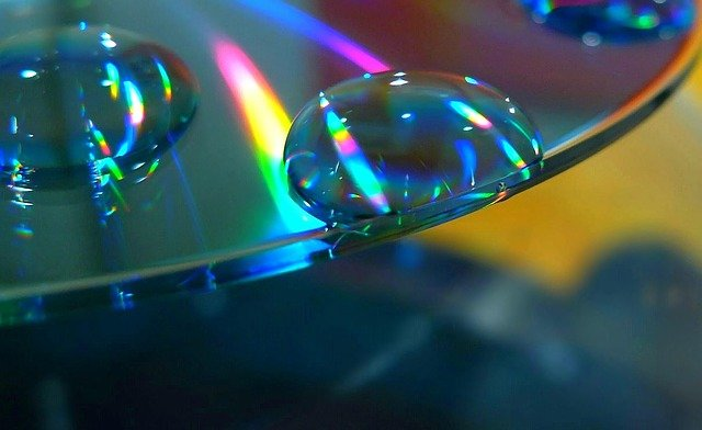 Damaged Compact Disc CDs