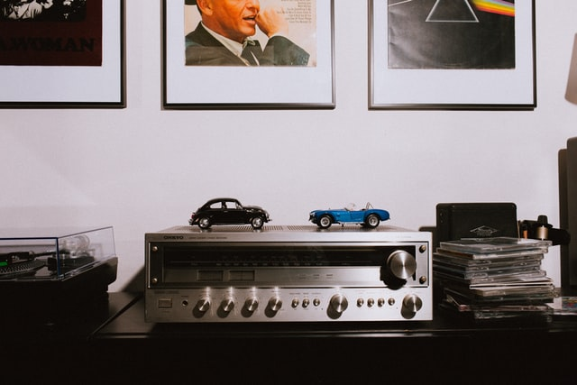 KEF Q550 Amplifier