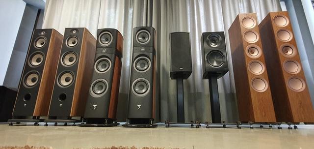 KEF R7 Amplifier